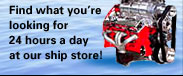 Find what you're looking for 24 hours a day at our ship store!